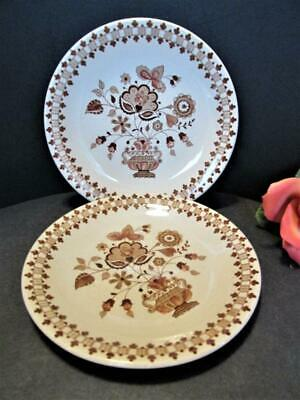 2 Vintage Johnson Brothers Old Granite Jamestown Side Plates Replacements