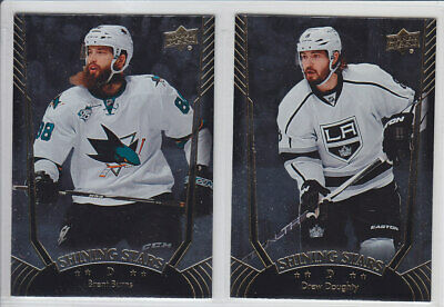 2016-17 Upper Deck Series Shining Stars Ss1-20 Defense Rw Blue U Pick Finish Set