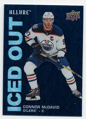 19/20 UPPER DECK ALLURE ICED OUT Hockey (#IOAB-IOSS) U-Pick From List