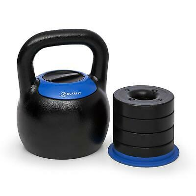 Kettlebell Allenamento Palestra Cross Training Workout Regolabile 16-24kg