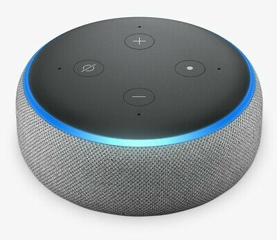 Amazon Echo Dot 3rd Generation Smart Speaker Alexa Voice Control Grey A Grade