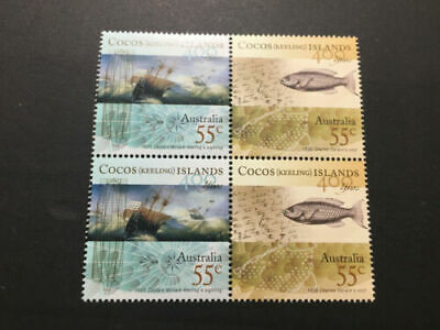 2849 MUH 55 cents and 260 of $1.1 Australian Postage Stamp - Fv $1852.95
