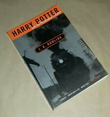 Harry Potter and the Philosopher's Stone J.K. Rowling 1998 Adult Cover PAPERBACK