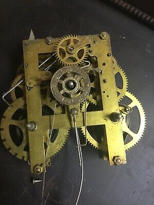 Antique Gilbert Kitchen Parlor Clock Movement Parts Repair