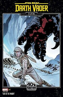 """Star Wars: Darth Vader #1 Nm Chris Sprouse """"Lair Of The Wampa"""" Variant Cover"""
