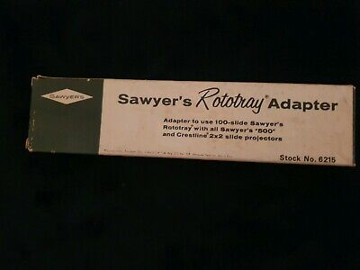 Sawyer's  Rototray  Adapter In Box With Instructions Vintage