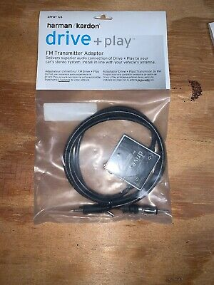 Harman/Kardon Drive + Play FM Transmitter Adaptor DPFMT1US