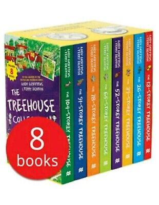 The 13-Storey Treehouse Collection - 8 Books - Brand New and Sealed