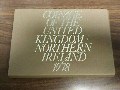 1978 Coinage of Great Britain & Northern Ireland Proof Set