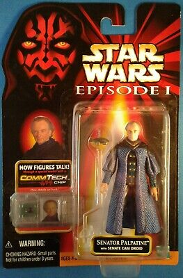 Star Wars 1998 EP1 TPM Modern Style Gasgano /& Pit Droid ~ Commtech Chip