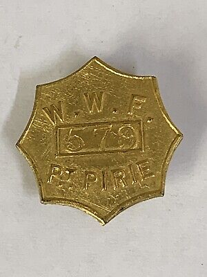 Port Pirie Waterside Workers Federation Union Badge Star
