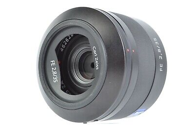Carl Zeiss Sonnar FE 35mm f/2.8 ZA T* Wide-Angle Lens for Sony E-Mount   #P1866