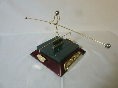 "Office, Desk Toy, Man Balancing ""On The Cutting Edge"", New, Opened Box"