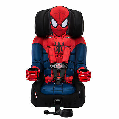 Kids Embrace Marvel Ultimate Spider Man Combination Harness Booster Car Seat