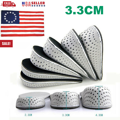Silicone Height Increase Taller  Insert Insoles Heel Lift Pads lift 5 cm Sephar