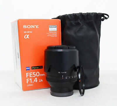 # Sony Planar T 50mm F/1.4 FE ZA Lens (with zeiss Lens Filter) 1814230