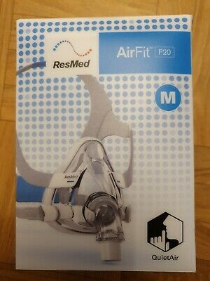 Airfit F20 Full Face Mask By Resmed Size M