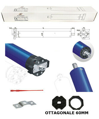 Kit Motore Per Tapparella Tapparelle 100 Kg 50Nm Nice Faac Came Bft Somfy 230V