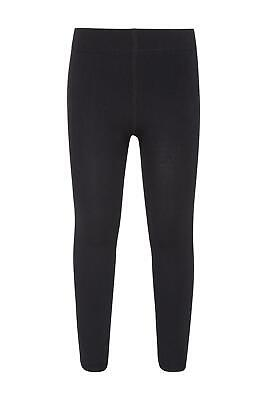 Mountain Warehouse Girls Leggings 100% Polyester with Brushed Inner Warm & Cosy