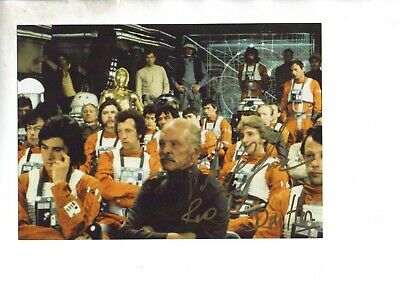 """John Chapman """"Gil Drifter in Star Wars"""" Signed Autographed 6x4 Col Photo"""