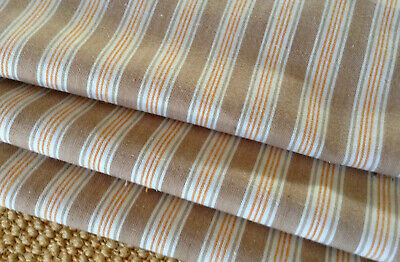 Small Scale Stripe Antique/Vintage French cotton mattresses ticking Dolls