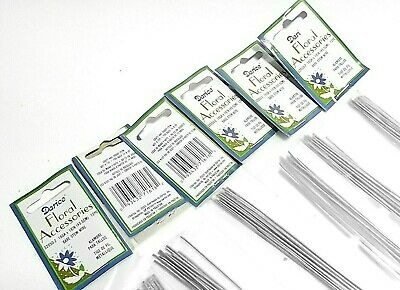 """6 Pack Of 12 Wires Darice 32050-2 16Ga X 18"""" 12 Pieces Bare Stem Wire"""