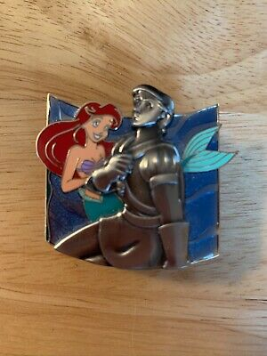 Disney Ariel & Prince Eric Statue Surprise Pin LE1000 Little Mermaid Pin on Pin
