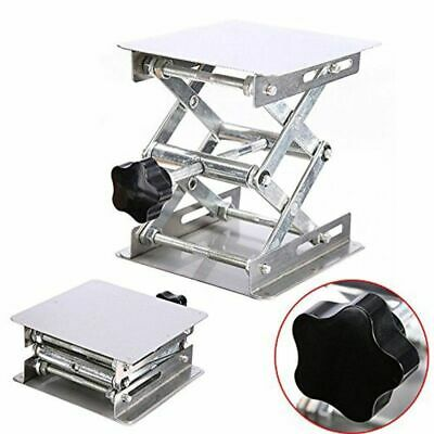 Table Rack Stand Scissor Lab Lifter Woodworking Bench Stainless Steel Adjustable