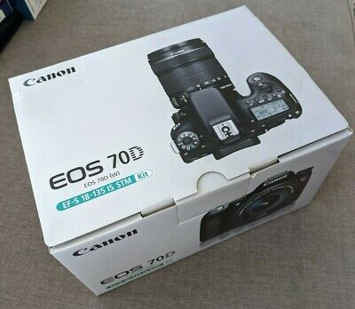 Canon Eos 70D Dslr Camera Kit + Ef-S 18-135 Is Stm Lens + Many Accessories 20.2