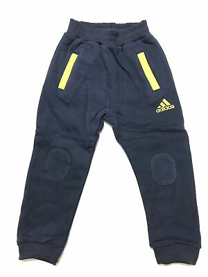 adidas 4-5 Year Old Fleece Track Pants - Blue