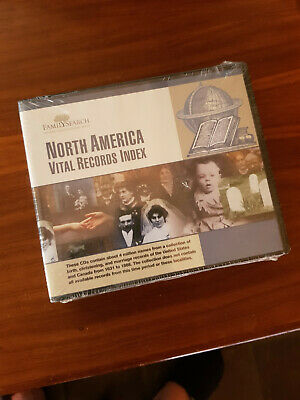 Family History Resource File - Vital Records Index North America 7 Disc Set