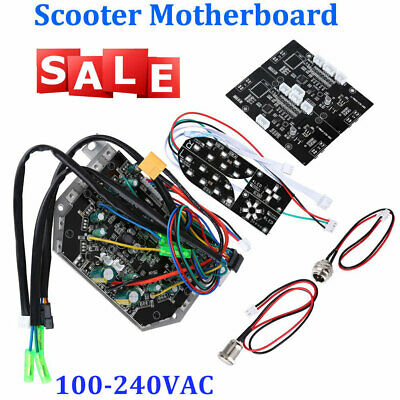 2 Main PCB Boards Double Motherboards for 36V Balance Scooter w// Heat Sink Above