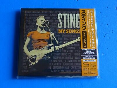 2019 JAPAN SHM CD STING MY SONGS  w/BONUS TRACK DIGI SLEEVE
