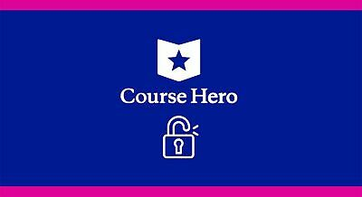 Course Hero Unlock (Cheap) (Fast Delivery)