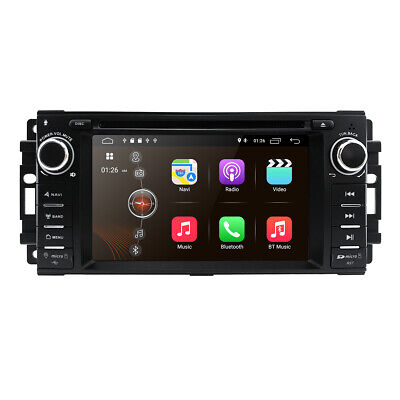 Android 9.0 Car DVD player GPS radio Stereo for Jeep Wrangler Compass 2007-2015