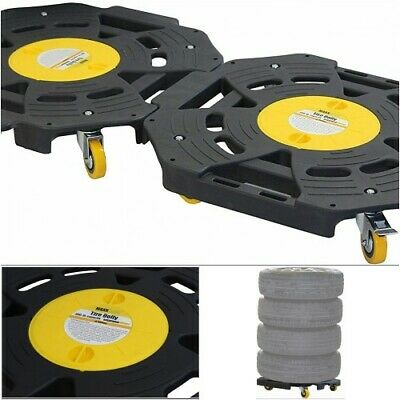 Wheel Mover Rolling Tire Dolly Storage Shop Equipment Truck Car Garage Furniture