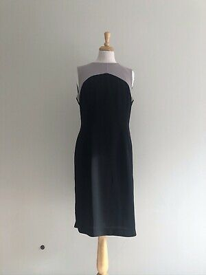 Pale Green Kora Layered Shift Dress Size 10 to 14 by Hobbs