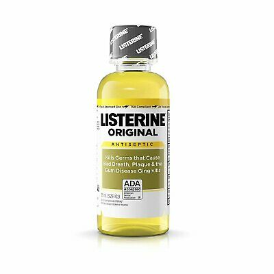Listerine Original Oral Care Antiseptic Mouthwash with Germ-Killing Formula...