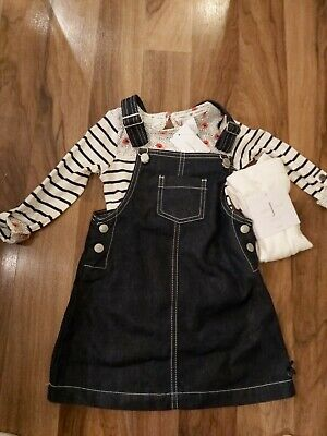 BNWT Jasper Conran lovely 3 Piece set/ Girls(3-4 years)skirt,top&tights