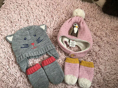 Mini Boden Hat Set