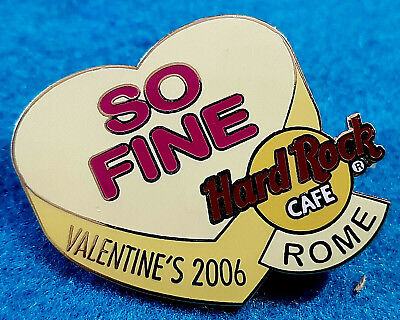 Roma SAN Candy Cuore Serie quindi Sottile 2006 Hard Rock Cafe Pin Le