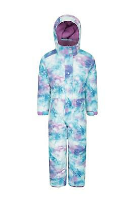 Mountain Warehouse Girls Snowsuits with Waterproof and Fleece Lined for Comfort