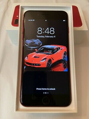 Apple iPhone 8 Plus (PRODUCT)RED - 64GB - (Factory Unlocked) A1864 (CDMA + GSM)