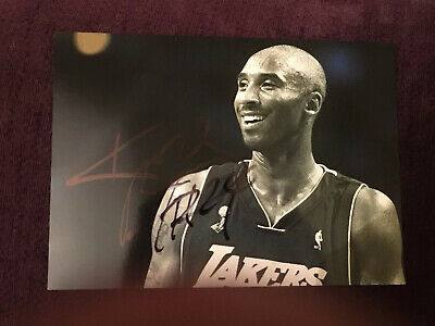 """Kobe Bryant Hand Signed Autograph Photo 7x5"""" -  *OFFERS WELCOME*  Basketball"""