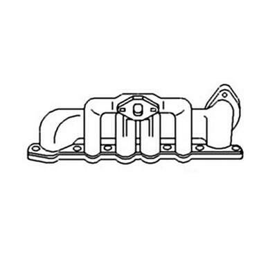 New Replacement Manifold For Ford Naa/Jubilee/600/800 53 To 64 Ex