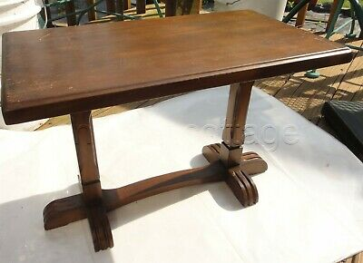 antique WOOD SMALL BENCH eastlake/federal? SIGNED unsure of signature furniture