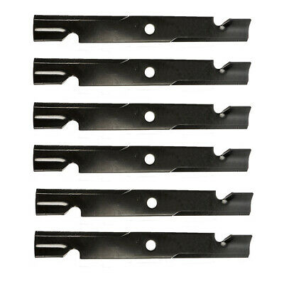 "New Set OEM of 3 60/"" Mower Notched Hi-Lift 20 1//2/"" Blade Exmark 103-6403-S"
