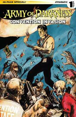 Army of Darkness: Convention Invasion #1 in NM + cond. Dynamite comics [*0u]