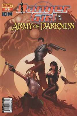 Danger Girl and the Army of Darkness #2 Cover B in NM. Dynamite comics [*nz]