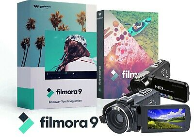 Wondershare Filmora 9 | HD/4K Video Editor | Windows Lifetime Licence